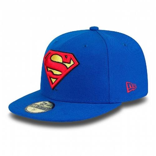 New Era Character Basic 59FIFTY Superman Fitted Cap - Royal Blue / Red | Snapback Caps & Five Panel Caps | Skate Clothing | Skate Clothes | Buy Cheap Skateboard Clothing | Skatehut | Skatehut
