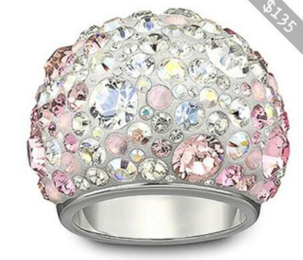 jewels ring diamonds rhinestones