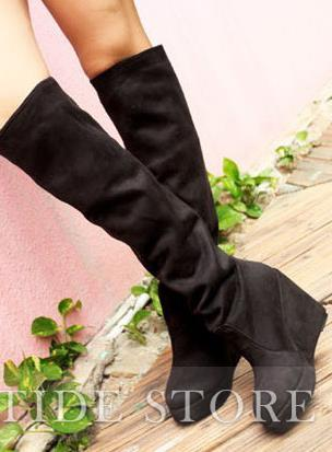 Amazing New Arrival Hight Heel Wedge Boots: tidestore.com