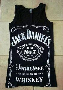 Jack Daniel's Old Time No 7 Graphic Top Tank Shirt Small Unisex | eBay