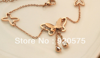 Aliexpress.com : Buy 2013 New Style Women Beautiful Butterfly Anklet Occident Female Cute Butterfly Anklet Fastness  Anklet from Reliable butterfly anklet suppliers on Shanghai Small Commodities Wholesales and Retails Co.,LTD