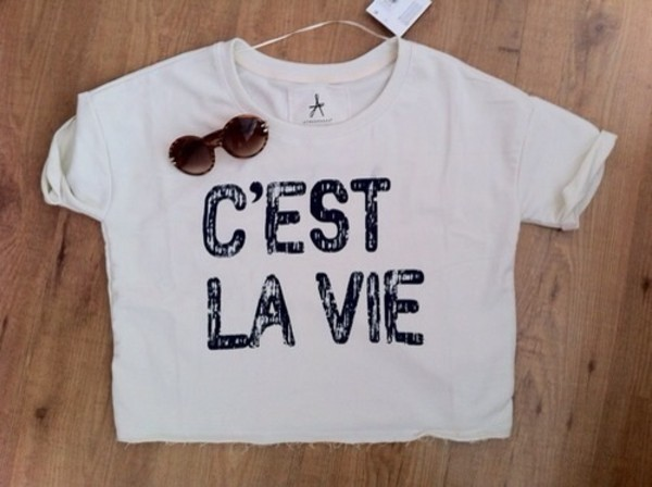 t-shirt white quote on it cool sunglasses