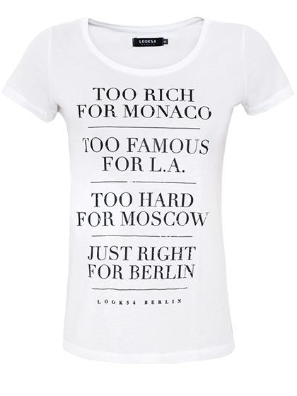 Too Rich for Monaco Shirt | LOOK54 | berlin trashcouture!