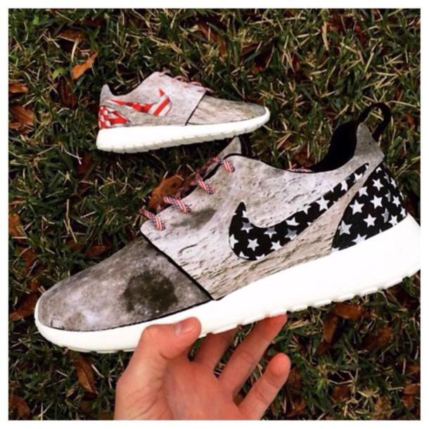 shoes amerian flag shoes