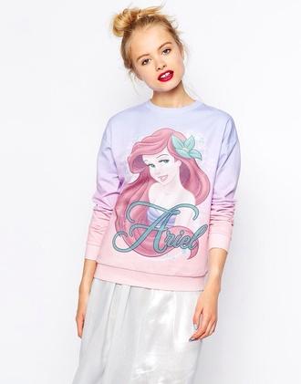 sweater disney sweater the little mermaid