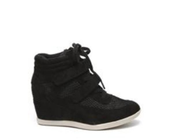 shoes wegdes wedge sneakers balck