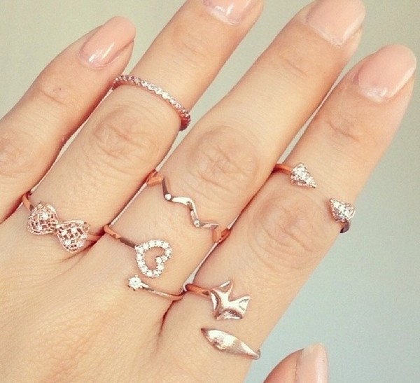 jewels gold jewelry gold strass bijoux ring bague cute jewelry knuckle ring rings and tings gold ring ring stack