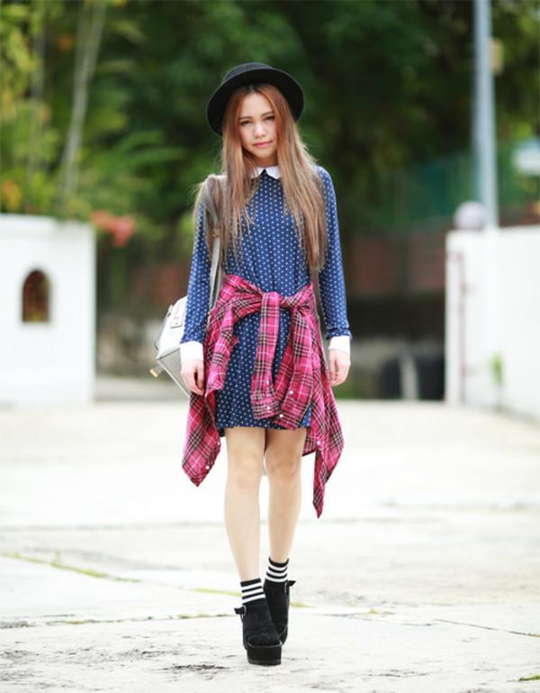 chloe ting dress shirt hat