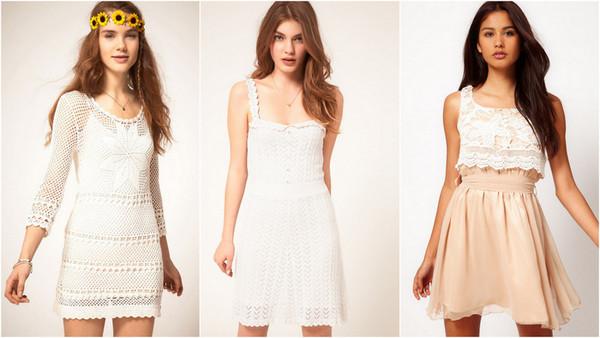 dress summer summer dress white lace crochet whitecrochetdress pink skirt white lace top prettyy