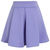 Cheering Purple Mini Skater Skirt on Wanelo