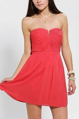 dress kimchi blue strapless dress ruched v front urban outfitters