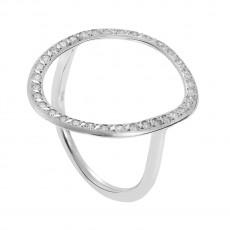 Again single hoop earrings by Ileana Makri