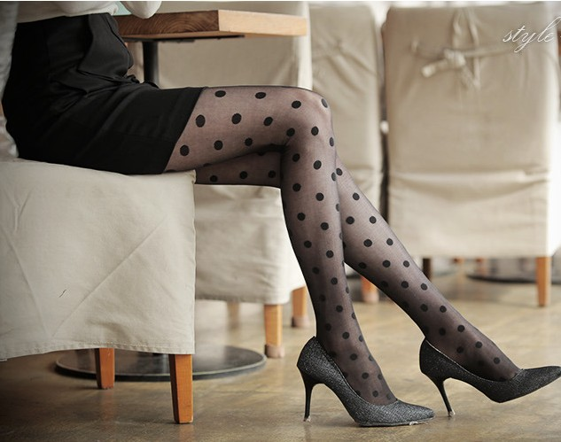 Free shipping retail 2014 new arrival fashion black white women sexy tights retro women summer tights cute girls tight-inTights from Apparel & Accessories on Aliexpress.com