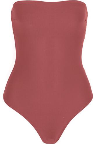 bodysuit rose underwear
