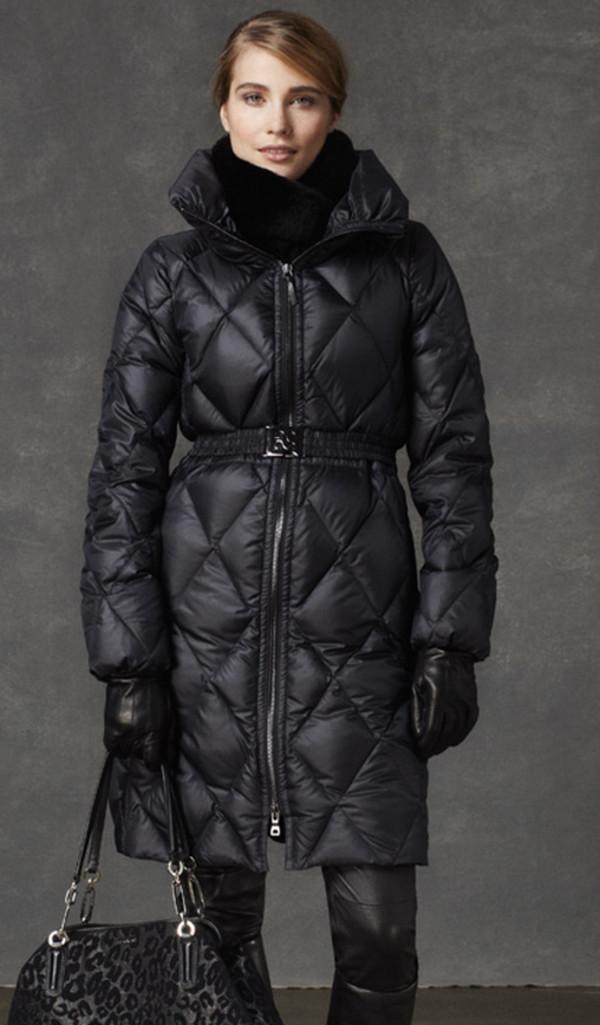 coat coach lookbook fashion scarf bag