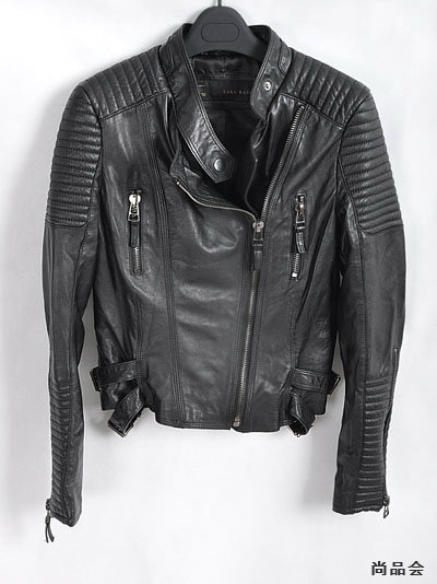 Fashion Womens Shoulder Pads Quilted Sheepskin Leather Motorcycle Coat Jacket   eBay
