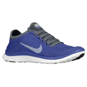 Nike Free 3.0 V5 - Women's - Running - Shoes - Violet Force/White/Cool Grey