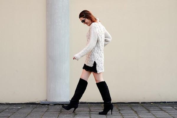 onto my wardrobe sweater skirt shoes bag sunglasses