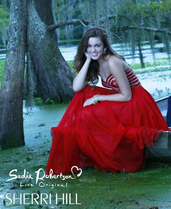 Serendipity Prom -Sherri Hill 11074 prom dress - Sherri Hill 2014 prom dresses - sherrihill11074