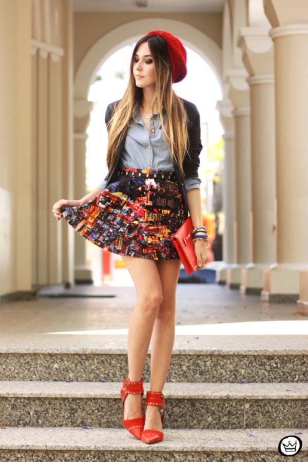 fashion coolture shirt jacket skirt bag belt shoes