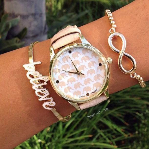 home accessory infinity believe bracelets set