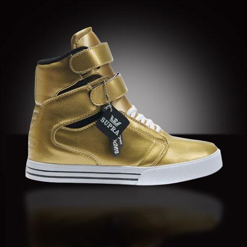 Justin Bieber gold - RADII SKATE SHOES