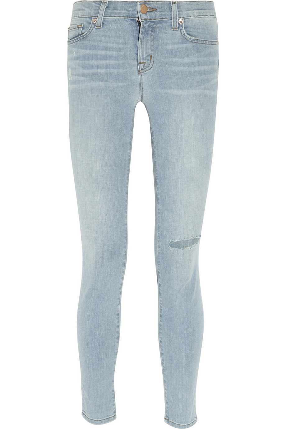 811 Rapture distressed mid-rise skinny jeans | THE OUTNET