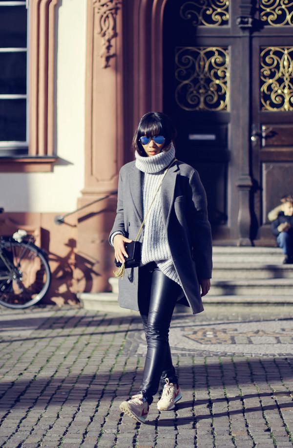 mode junkie sweater coat bag pants shoes