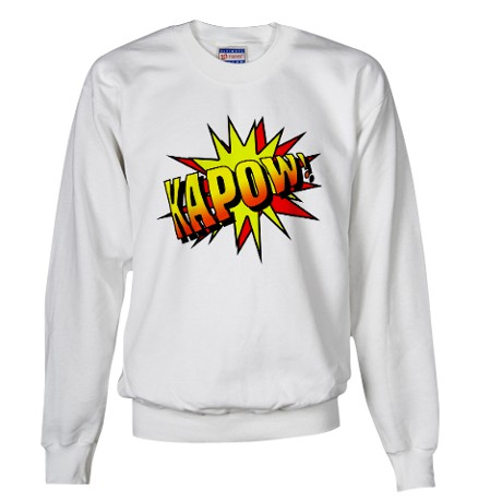 Kapow! Sweater by witandstyle