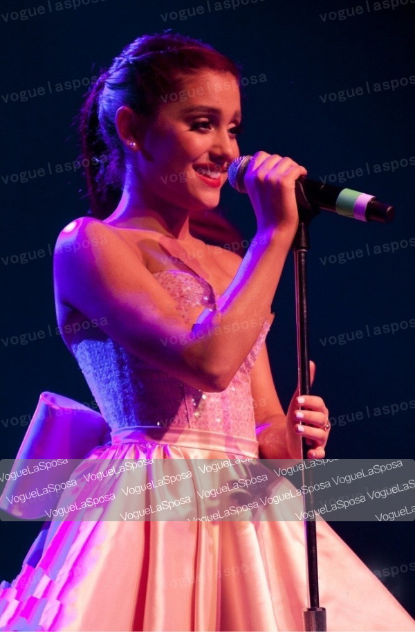 Free shipping wholesale Ariana Grande Cute Pink Cocktail Dress Irving Plaza Performance-in Celebrity-Inspired Dresses from Apparel & Accessories on Aliexpress.com