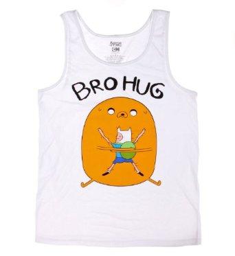 Amazon.com: Adventure Time Bro Hug Tank Top Size : X-Large: Clothing
