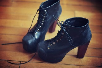 shoes blue navy heels boots pls jeffrey campbell jeffrey campbell lita design jeffrey cambell