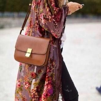 floral blouse cute long cardigan similiar love pink helps