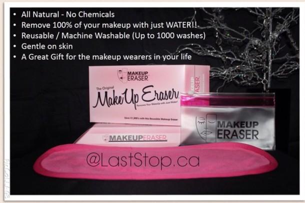 make-up make-up remover laststop chemical free natural makeup bag make up acessory laststop.ca accessories