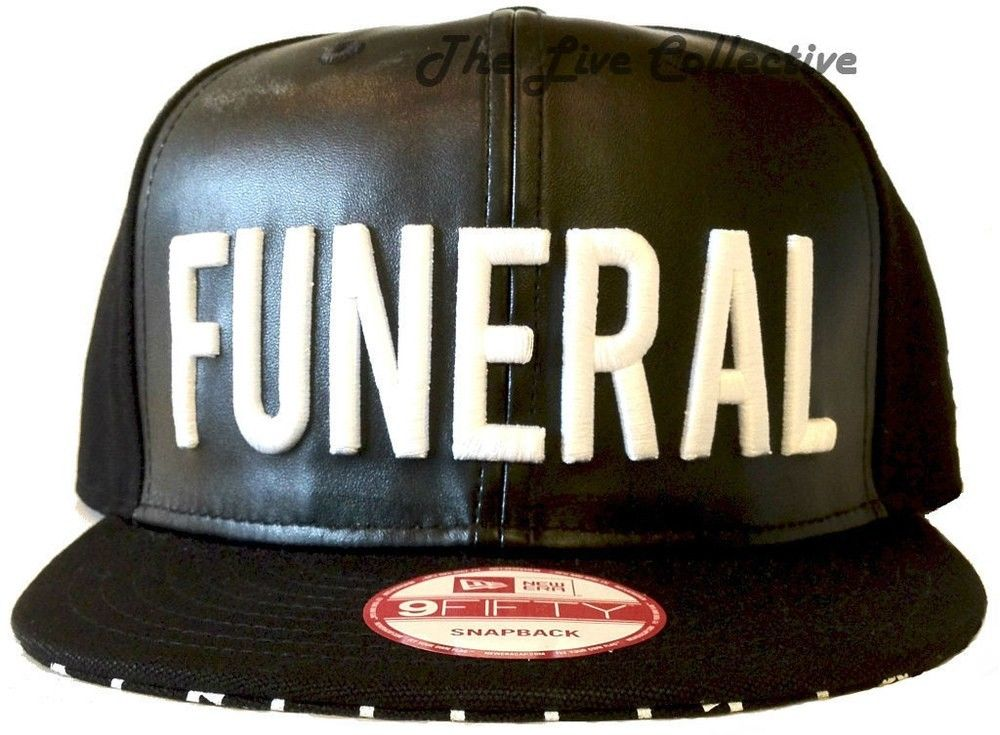 Black Scale Funeral Leather Snapback Authentic Illegal Silence Supreme HUF BLVCK | eBay