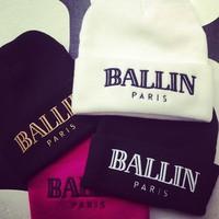 BALLIN BEANIE (PARIS) on The Hunt