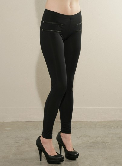 LNA Double Zip Pocket Legging | American Made Fashion  | Partisan Style