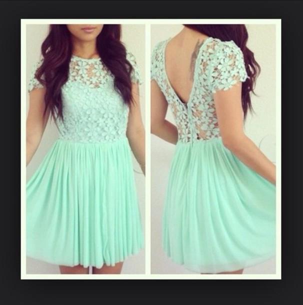 dress blue dress cute