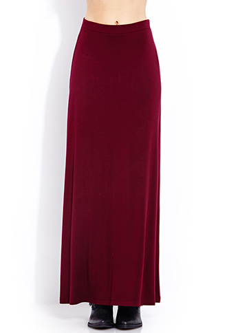 Everyday Jersey Knit Maxi Skirt   FOREVER21 - 2000127315