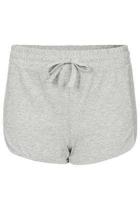 Grey Marl Jersey Runner Shorts - Running & Cycling Shorts - Shorts  - Clothing - Topshop