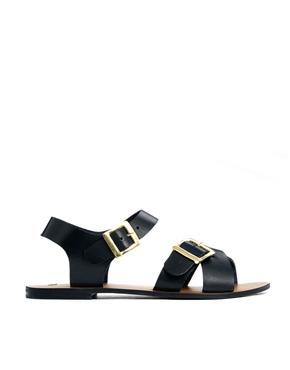 ASOS | ASOS FIRESTORM Leather Sandals at ASOS