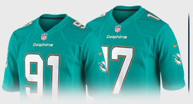 Miami Dolphins Jersey - Buy Dolphins Jerseys for Men, Women, & Kids at NFLShop.com