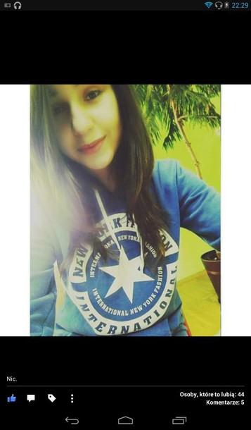 shirt blue jumper