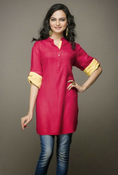 blouse tunika