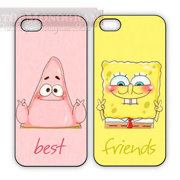 Sponge bob Best Friend cases for iPhone or Galaxy, Patrick and Spongebob, BFF iPhone case Samsung Galaxy case, Two Case Set on Wanelo