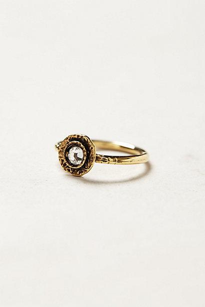 Crystal Bloom Ring - anthropologie.eu
