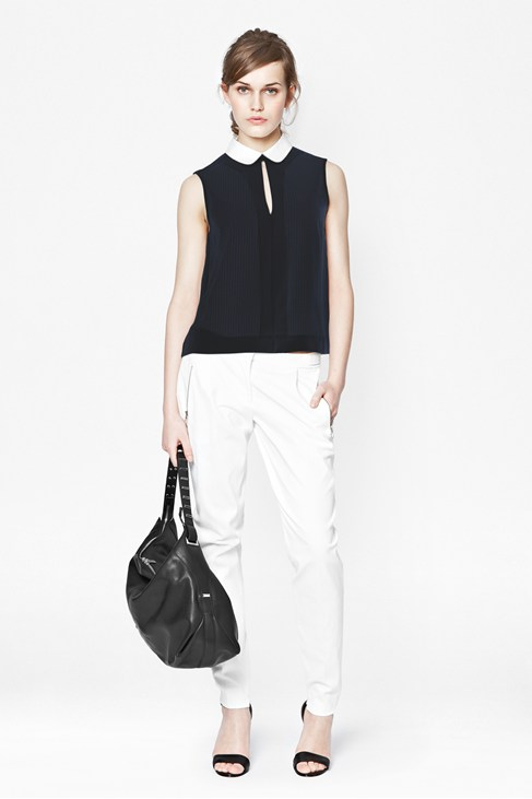 Picnic Check Sleeveless Top - Tops - French Connection
