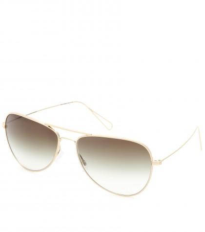 mytheresa.com -  X Oliver Peoples Matt teardrop-frame sunglasses - sunglasses - accessories - Luxury Fashion for Women / Designer clothing, shoes, bags