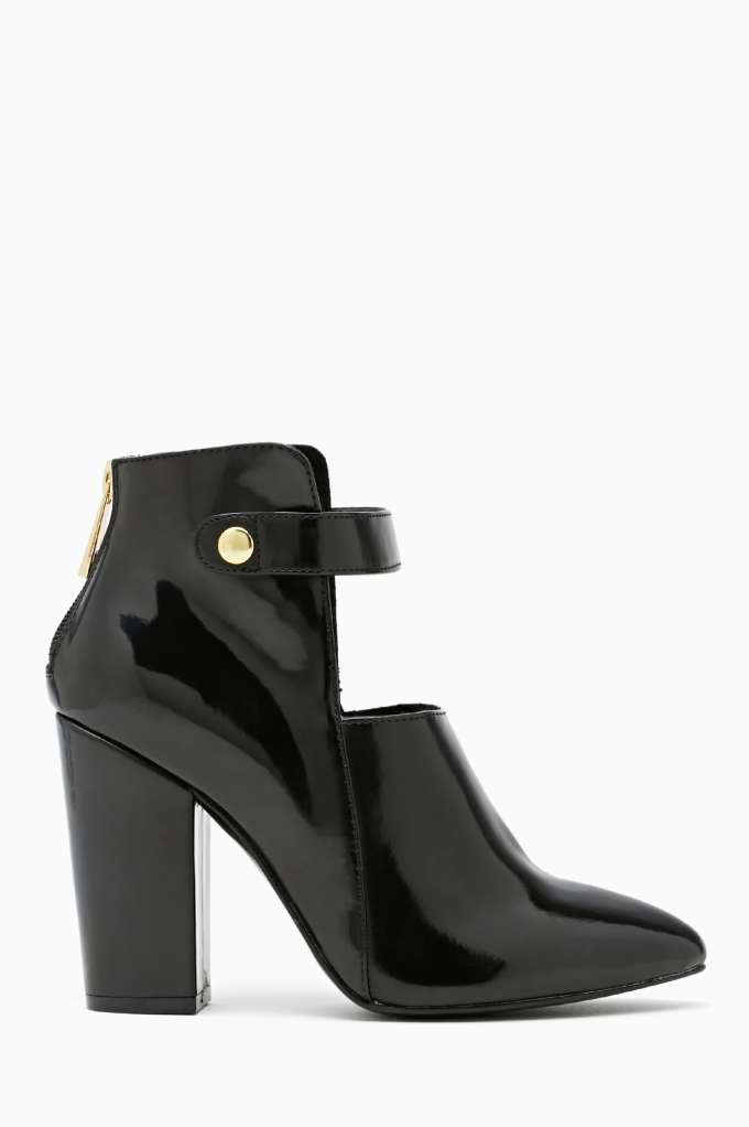 Shoe Cult Bossy Bootie in  Don't Miss The Perfect 10 at Nasty Gal