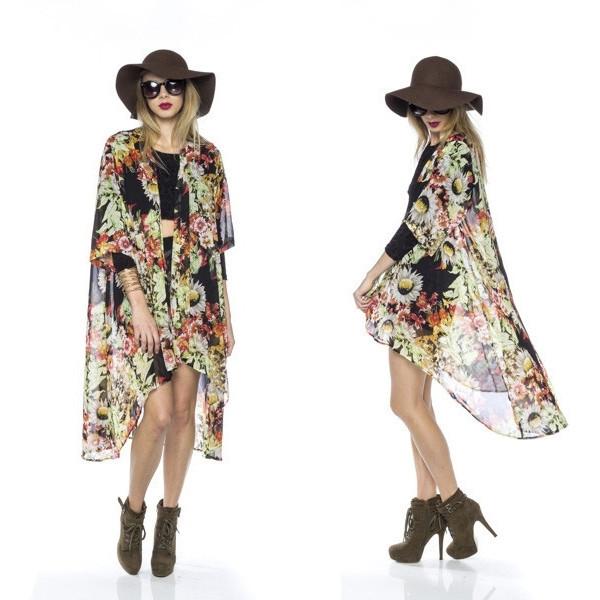 Flower Child Kimono Top | Vanity Row